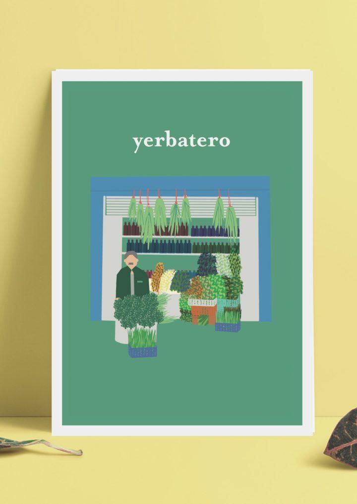 """Póster """"Yerbatero"""""""