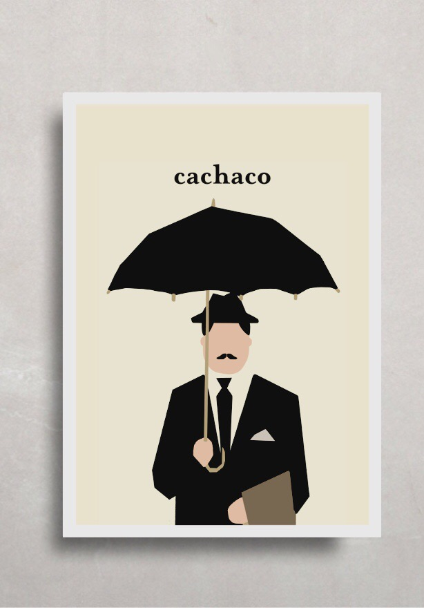 """Póster """"Cachaco"""""""